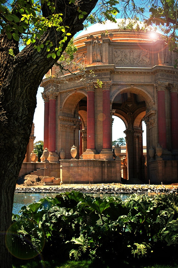 The Palace Of Fine Arts In San Francisco, Ca