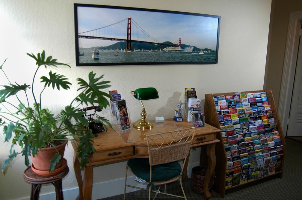 The Information Center At The Willows Inn In San Francisco, Ca.